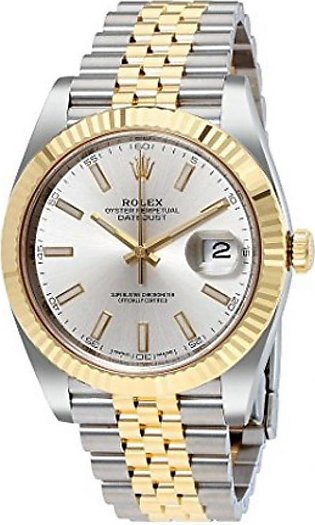 Rolex Datejust 41 Men's Watch Yelow Gold (126333SSJ)