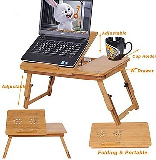 E-Mart Pakistan Wooden Laptop Table With Study Table