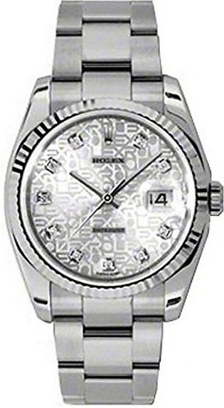 Rolex Datejust 36 Men's Watch Silver (116243-63603-32)