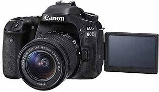 Canon EOS 80D DSLR Camera With 18-55mm STM Lens