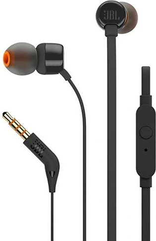 JBL T110 In-Ear Headphones Black