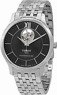 Tissot Powermatic 80 Men's Watch Silver (T0639071105800)