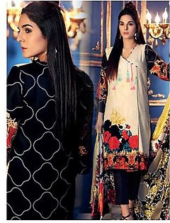 Gul Ahmed Winter Collection 3 Piece (VL72)