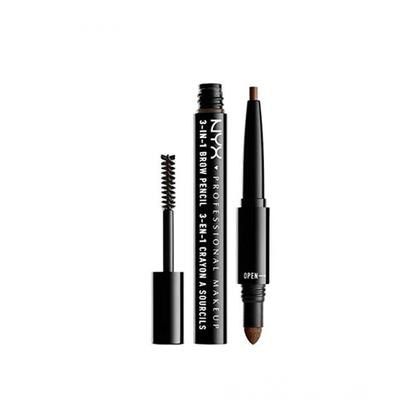 NYX 3 in 1 Brow Pencil Soft Brown (03)