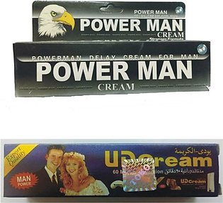 Online Butt Power Man Delay Cream With UD Cream Pack of 2