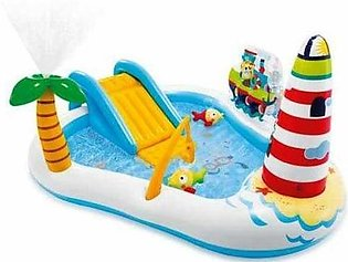 Intex Fishing Fun Play Center With Kiddie Pool 7ft (PX-10559)
