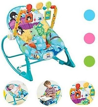 Planet X Fitch Baby Infant To Toddler Bouncer Rocker Assorted Colors (PX-10791)