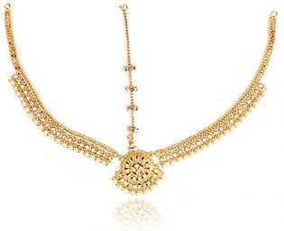 SaharCollection4u Golden Alloy Matha Patti JP 1373