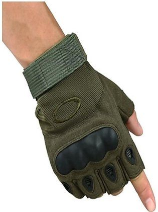 Shopy Store Tactical Gloves Half Finger Green