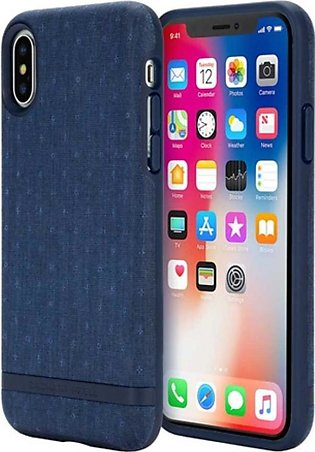Incipio Zachary Prell X Bowery Textured Navy Case For iPhone X/XS