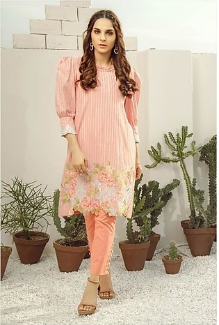 Al Karam Spring Summer Collection 2020 2 Piece (SS-22-20-Peach)