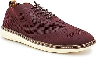 Servis Ndure Casual Shoes For Men Burgundi (ND-YQ-0001)