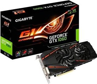 Gigabyte GeForce GTX 1060 G1 6GB Graphics Card (GV-N1060G1 GAMING-6GD)