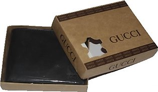 Khareed Express Gucci Leather Wallet For Men Black