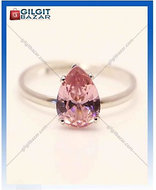 Gilgit Bazar Topaz Stone Ring For Women Pink (GB1218)