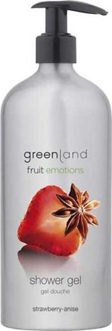 Greenland Bodycare Fruit Emotions Shower Gel Strawberry Anise 600ml