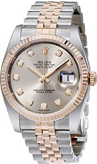 Rolex Datejust 36 Men's Watch Rose Gold (116231RDJ)