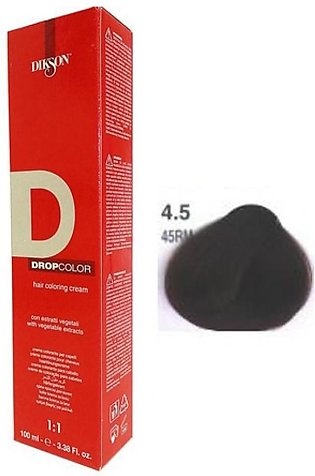Dikson Drop Hair Color Cream Red Cyclame 45RM 100ml