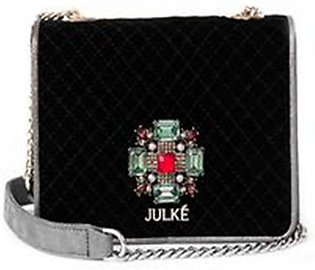 Julke Bella Women's Shoulder Bag Noir