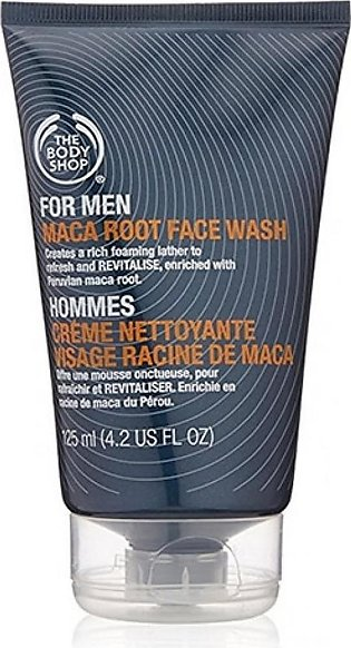 The Body Shop Maca Root Face Wash For Men 125ML