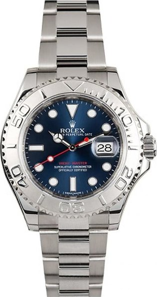 Rolex Yachtmaster Men's Watch Silver (116622BLSO)