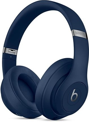 Beats Studio3 Wireless Bluetooth Over-Ear Headphones Blue