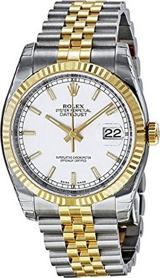 Rolex Datejust Men's Watch Two Tone (116233WSJ)