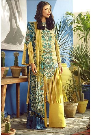 Al Karam Spring Summer Collection 2020 3 Piece (SS-15-20-Yellow)