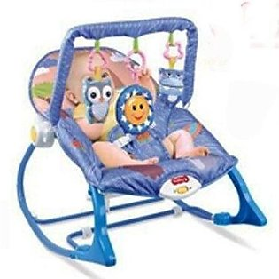 Easy Shop 2 in 1 Infant To Toddlers Rocker Blue (0592)