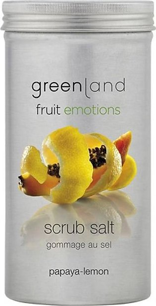 Greenland Bodycare Fruit Emotions Scrub Salt Papaya Lemon 400grm