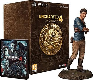 Uncharted 4: A Thiefs End Collector's Edition Game For PS4