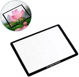 GEonline DSLR Camera Screen Glass Protector For Canon EOS 6D Mark ii
