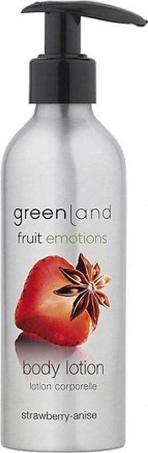 Greenland Bodycare Fruit Emotions Body Lotion Strawberry Anise 200ml