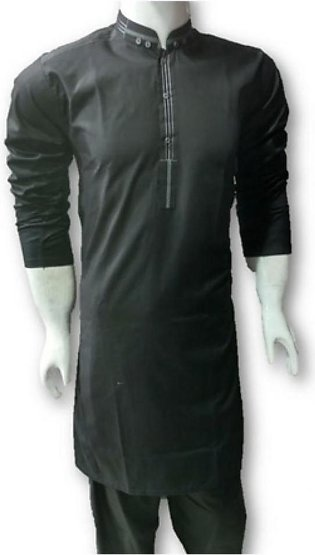 HyperZone Designer Kurta For Men Black (AFJ1-0049)