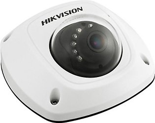 Hikvision 3MP HD PoE Dome Camera with 2.8mm Lens & Audio (DS-2CD2532F)