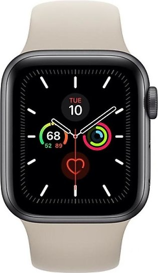 Apple Watch Series 5 40mm Space Gray Aluminum Case with Stone Sport Band - GPS