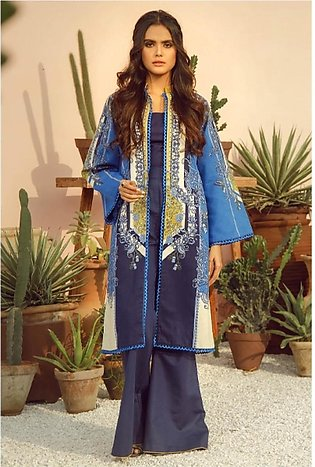 Al Karam Spring Summer Collection 2020 2 Piece (SS-25-20-Blue)