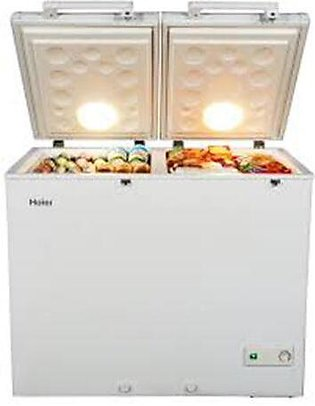Haier HDF-325 Inverter Deep Freezer  Double Door