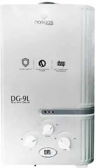 NasGas INSTANT SUPREME DELUXE  GAS WATER GEYSER DG- 9Ltr