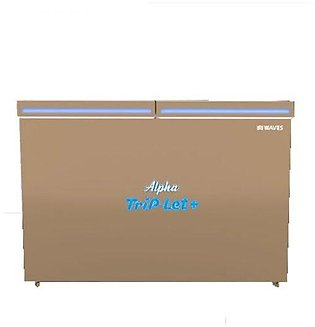 Waves GD-WDFT-318 Alpha Double Door Deep Freezer 18 cu ft