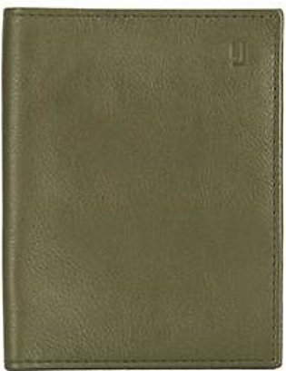 The Wave Travel Wallet - Green Black