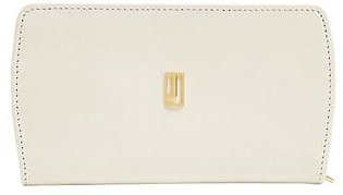 Long Zip Wallet - Off White Gold