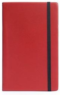 Leather-bound Notebook - Red
