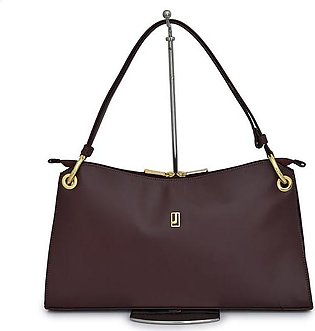 Shoulder Bag Nappa Leather - Burgundy Gold