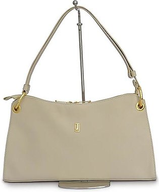 Shoulder Bag Nappa Leather - Off White Gold
