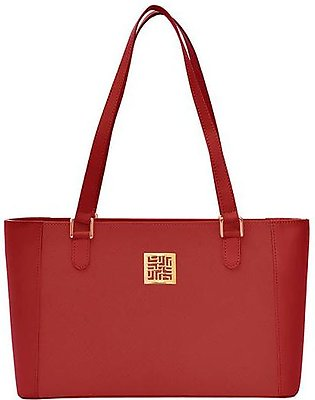 Classic handbag - Red Gold