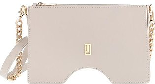 The Jacqueline Evening Bag - Off White Gold