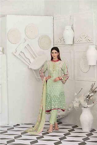 TAWAKKAL Raqami Embroidered Lawn Collection – D-1607