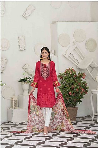 TAWAKKAL Raqami Embroidered Lawn Collection – D-1616