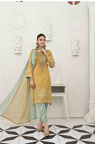 TAWAKKAL Raqami Embroidered Lawn Collection – D-1611